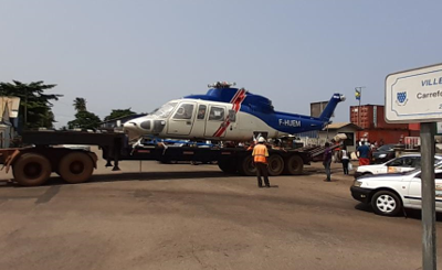High profile operation in Gabon for our client Heli-Union!