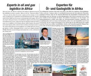 Philippe Masserey, Group MD, talks to International Trade News